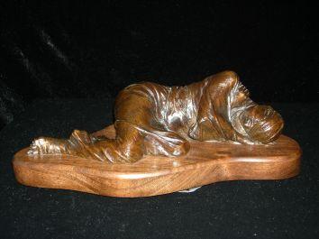 Bound, bronze