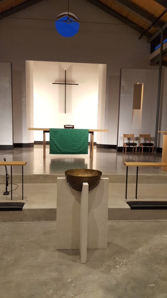 Baptismal Font, bronze